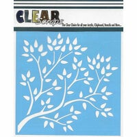 Clear Scraps - Mascils - 6 x 6 Masking Stencil - Tree Branch