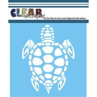 Clear Scraps - Mascils - 6 x 6 - Masking Stencil - Turtle