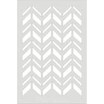 Clear Scraps - Wall Stencil - 24 x 36 - Chevron