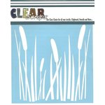 Clear Scraps - Mascils - 12 x 12 Masking Stencil - Cattails