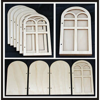 Clear Scraps - Accordion Shaker Album - Window