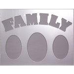 Clear Scraps - 14 x 18 Word Board - Family
