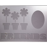 Clear Scraps - 14 x 18 Word Board - Friends