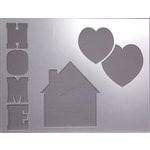 Clear Scraps - 14 x 18 Word Board - Home