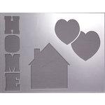 Clear Scraps - 14 x 18 Word Board - Home
