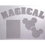 Clear Scraps - 14 x 18 Word Board - Magical