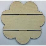 Clear Scraps - DIY - Birch Wood Pallet - Flower