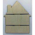 Clear Scraps - DIY - Birch Wood Pallet - House
