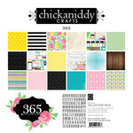 Chickaniddy Crafts - 365 Collection - 12 x 12 Collection Pack