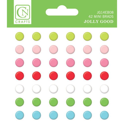 Chickaniddy Crafts - Jolly Good Collection - Christmas - Mini Brads