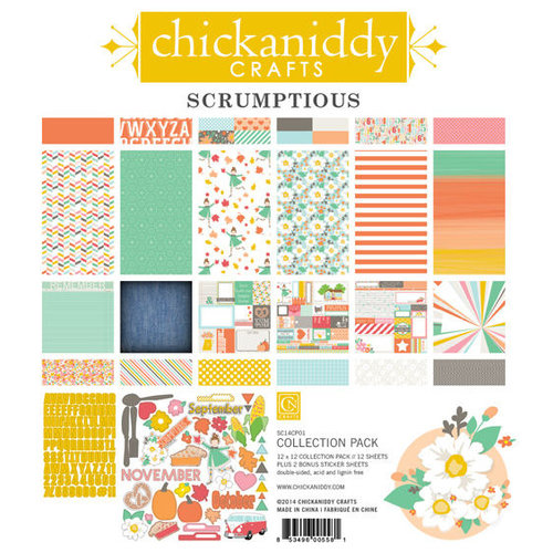 Chickaniddy Crafts - Scrumptious Collection - 12 x 12 Collection Pack