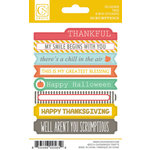 Chickaniddy Crafts - Scrumptious Collection - Cardstock Stickers - Mini Tags