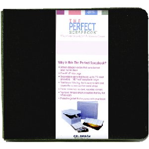 12 x 12 Colorbok - Jill Rinner The Perfect Scrapbook - Licorice