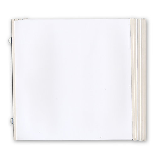 Colorbok - Westrim - Page Protectors - Refill Pack - Hinged Pages - Fits 12 x 12 Strap Albums - 20 Pack