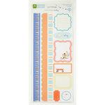 Colorbok - Making Memories - Sarah Jane Collection - Cardstock Stickers - Journaling - Boy
