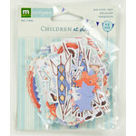 Colorbok - Making Memories - Sarah Jane Collection - Die Cut Cardstock Pieces - Boy