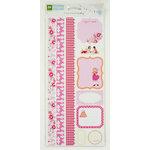 Colorbok - Making Memories - Sarah Jane Collection - Cardstock Stickers - Journaling - Girl