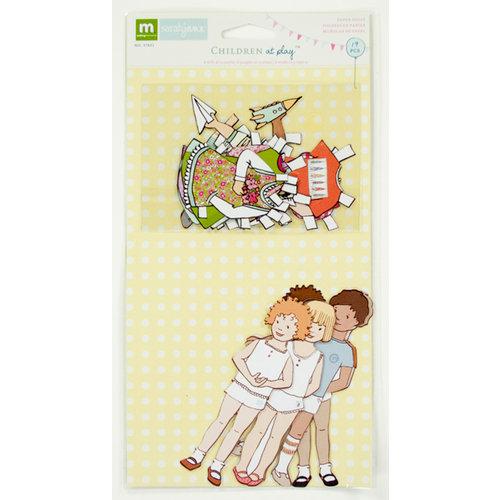 Colorbok - Making Memories - Sarah Jane Collection - Paper Dolls - Girl