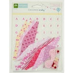 Colorbok - Making Memories - Sarah Jane Collection - Mini Pennant Kit - Girl