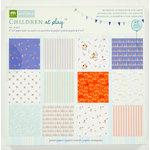 Colorbok - Making Memories - Sarah Jane Collection - 6 x 6 Paper Pad - Boy