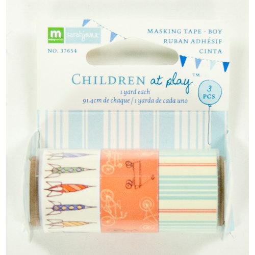 Colorbok - Making Memories - Sarah Jane Collection - Masking Tape - Boy