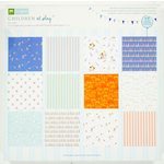 Colorbok - Making Memories - Sarah Jane Collection - 12 x 12 Paper Pad - Boy