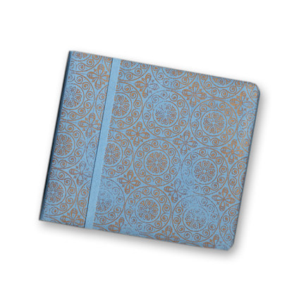 Colorbok - Metallic Collection - 8 x 8 Album - Distressed Metallic