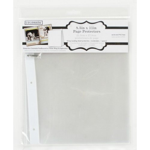 12 by 12inch 10 Pack Colorbok Protectors