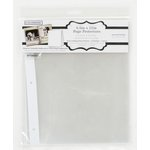 Colorbok - 8.5 x 11 Page Protector - Fits Postbound or 3 Ring Albums - 10 Pack