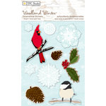 Colorbok - TPC Studio - Woodland Winter Collection - 3 Dimensional Stickers