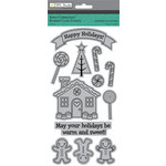 Colorbok - TPC Studio - Sweet Christmas Collection - Cling Mounted Rubber Stamps