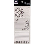 Colorbok - Cloud 9 Design - Nightshade Collection - Journaling Pad - Cardstock Stickers with Foil Accents