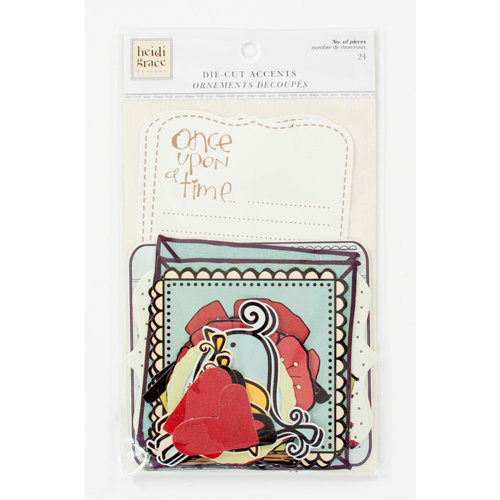 Colorbok - Heidi Grace Designs - Tweet Memories Collection - Die Cut Cardstock Pieces - Accents