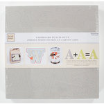Colorbok - Heidi Grace Designs - Tweet Memories Collection - Raw Chipboard Punch Outs - Alphabet