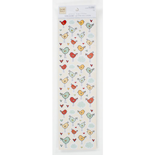 Colorbok - Heidi Grace Designs - Tweet Memories Collection - Glitter Stickers - Birds