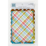 Colorbok - Heidi Grace Designs - Daydream Collection - Die Cut Cardstock Pieces - Photo Mats