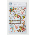 Colorbok - Heidi Grace Designs - Daydream Collection - Layered Stickers with Glitter Accents