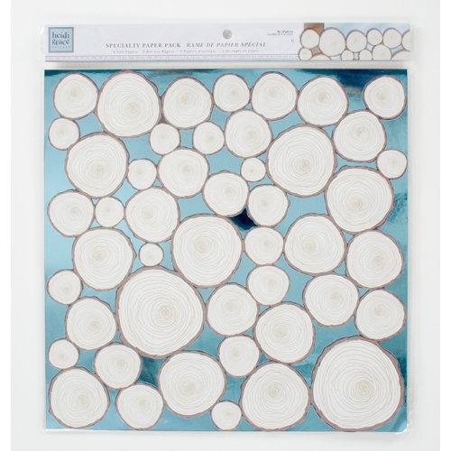Colorbok - Heidi Grace Designs - Daydream Collection - 12 x 12 Die Cut Foil Paper Pack