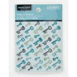 Colorbok - Antique Paperie Collection - Epoxy Stickers