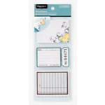 Colorbok - Antique Paperie Collection - Journal Stacks - Cardstock Stickers with Foil Accents