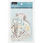 Colorbok - Antique Paperie Collection - Die Cut Cardstock Pieces - Accents