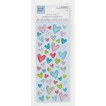 Colorbok - Heidi Grace Designs - Daydream Collection - Epoxy Stickers - Hearts