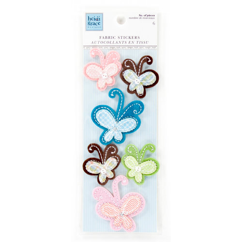 Colorbok - Heidi Grace Designs - Daydream Collection - Puffy Fabric Stickers
