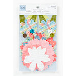 Colorbok - Heidi Grace Designs - Daydream Collection - Fabric Flowers with Buttons