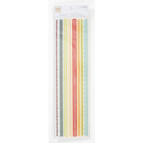 Colorbok - Heidi Grace Designs - Tweet Memories Collection - Glitter Stickers - Borders