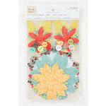 Colorbok - Heidi Grace Designs - Tweet Memories Collection - Fabric Flowers With Buttons