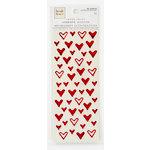 Colorbok - Heidi Grace Designs - Tweet Memories Collection - Foil Epoxy Stickers - Hearts