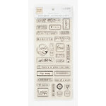 Colorbok - Heidi Grace Designs - Tweet Memories Collection - Epoxy Stickers - Words