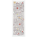 Colorbok - Heidi Grace Designs - Tweet Memories Collection - Rub Ons - Alphabet