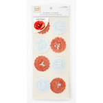 Colorbok - Heidi Grace Designs - Tweet Memories Collection - Stickers - Flower Pomps